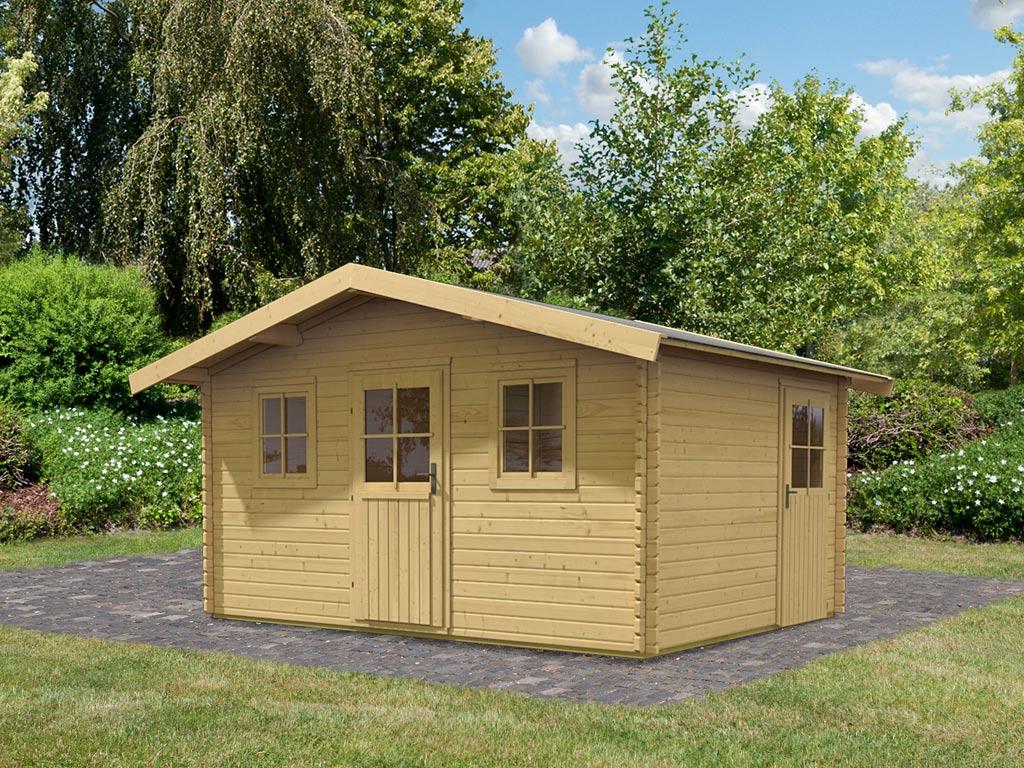 gartenhaus 40 mm preisvergleiche erfahrungsberichte und kauf bei nextag. Black Bedroom Furniture Sets. Home Design Ideas