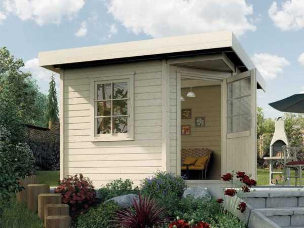 Gartenhaus Designhaus 213 Plus Gr. 1 natur