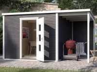 Gartenhaus Designhaus wekaLine 413 A Gr. 1 45 mm anthrazit