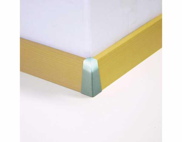 Außenecken für Sockelleisten Profil SKL 60, weißbeige