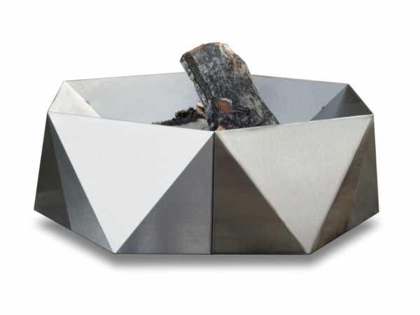 Design Feuerschale JUNDA Edelstahl