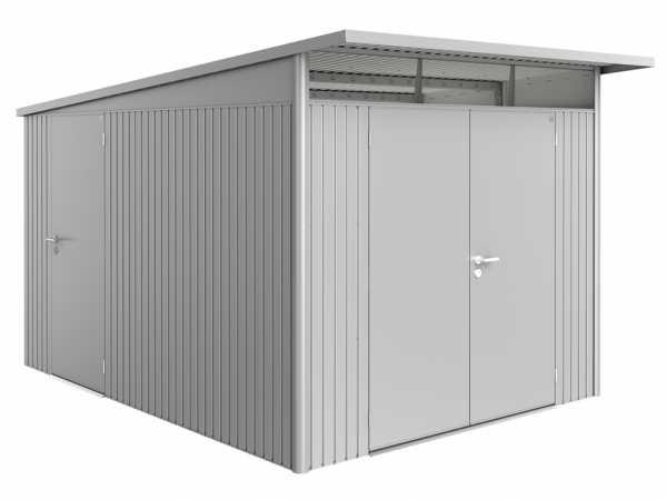 Zusatztür für Gerätehäuser HighLine + AvantGarde + Panorama dunkelgrau-metallic
