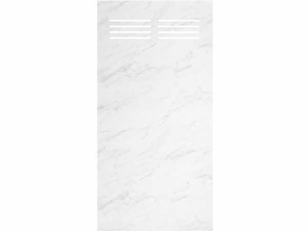 Sichtschutzelement Slot-Design BOARD marmor