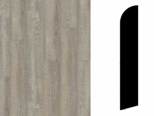 Sockelleiste Smoked Oak Light Grey Dekor