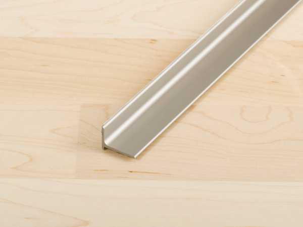 Abschlussprofil PROFACE Aluminium eloxiert Edelstahl