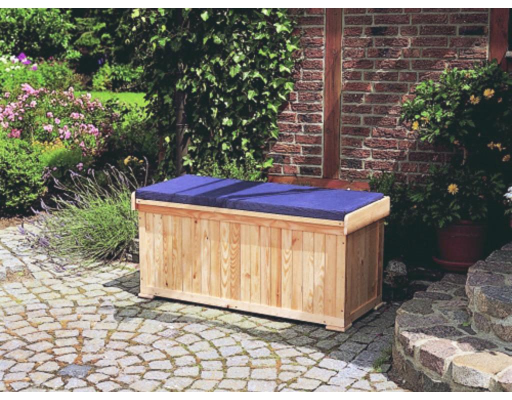 sitzbank kissentruhe inkl sitzauflage pr0040. Black Bedroom Furniture Sets. Home Design Ideas