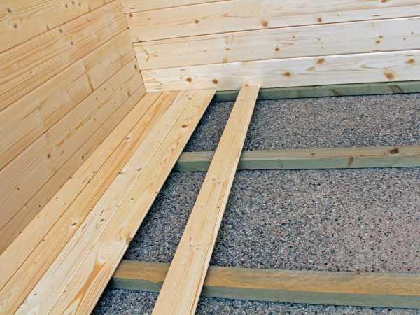 Fußboden für Gartenhaus CA2882