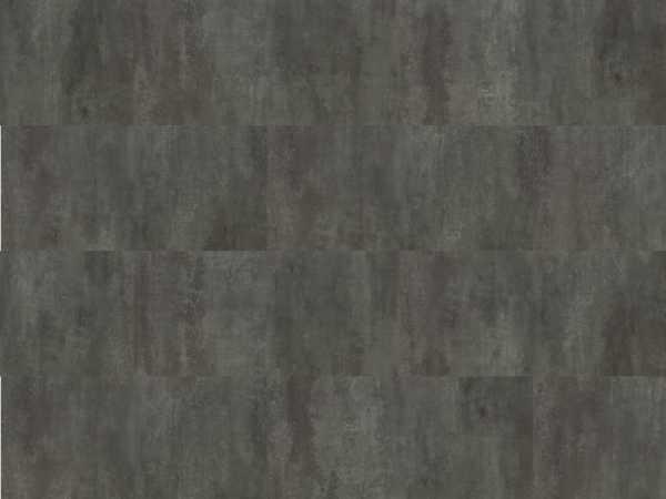 Korkboden Hydrocork Dark Beton Fließenoptik