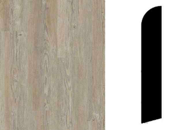 Sockelleiste Brushed Pine Brown Dekor
