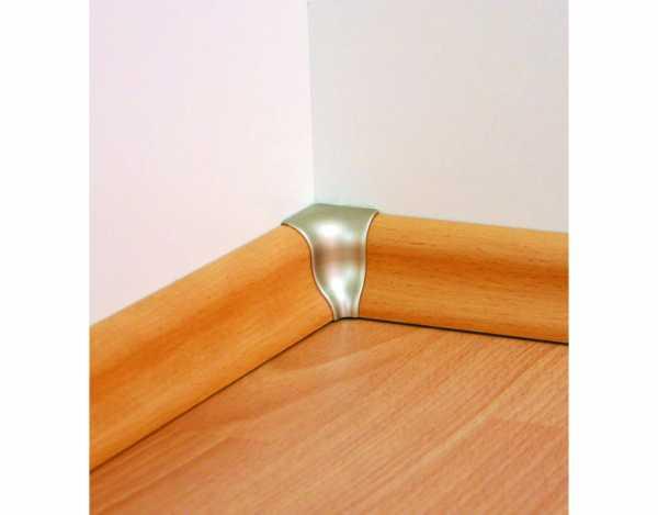 Innenecken für Sockelleisten Profil SKL 20, Weiß