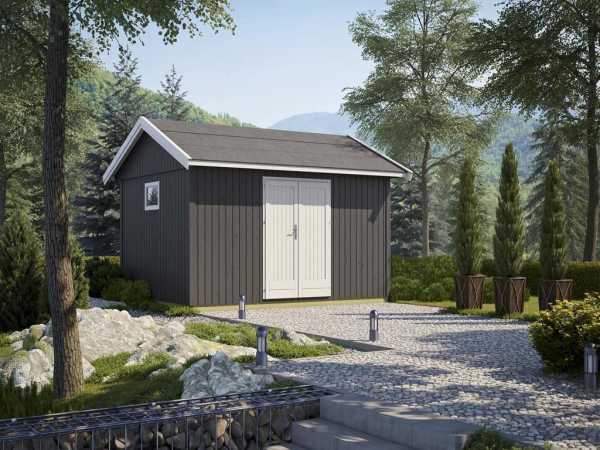 Gartenhaus Nordic 15 19 mm naturbelassen