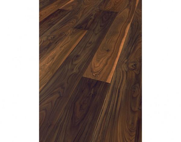 Laminat dunkelbraun  Avatara Floor Nussbaum dunkelbraun geschliffen extramatt ...