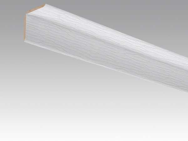 Wand- und Deckenleiste Wave weiß 4061 Dekor