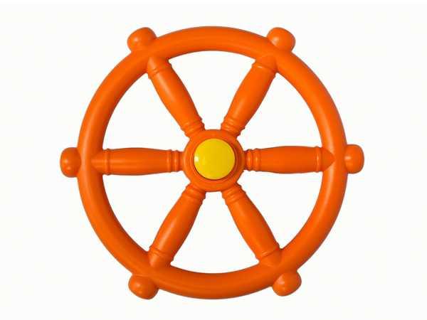 Spielgeräte Zubehör Piraten Lenkrad, orange