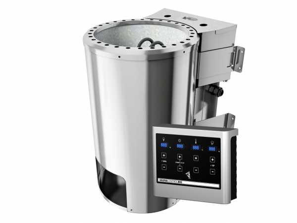 Saunaofen 3,6 kW P&P Bio SET mit Steinen und Strg. Easy