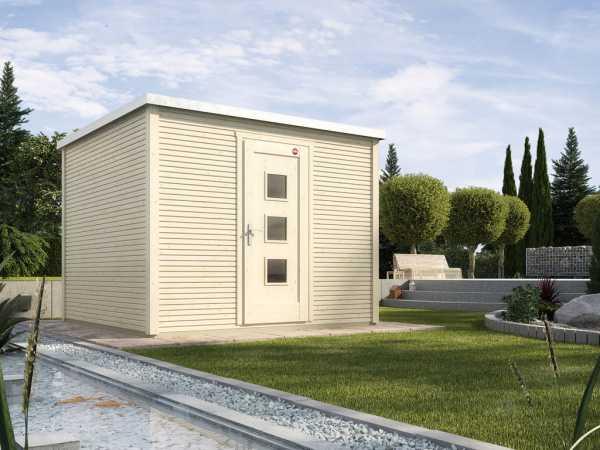 Gartenhaus Designhaus wekaLine 413 Gr. 2 45 mm naturbelassen