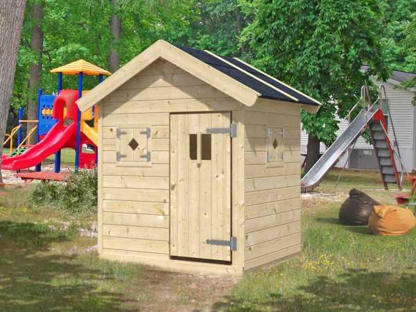"Spielhaus Kinderspielhaus ""Nele"" Basis naturbelassen"