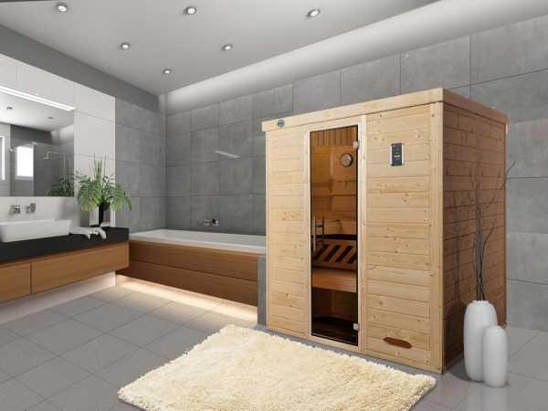 Design-Sauna KEMI 4 GT, ohne Ofen