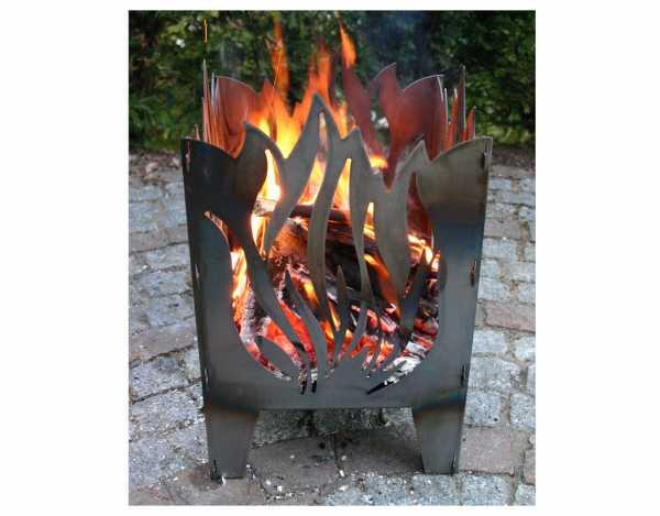 Feuerkorb FLAMME L Stahl