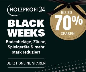 Black Weeks bei Holzprofi24