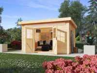 Gartenhaus Kulpin 6 28 mm natur
