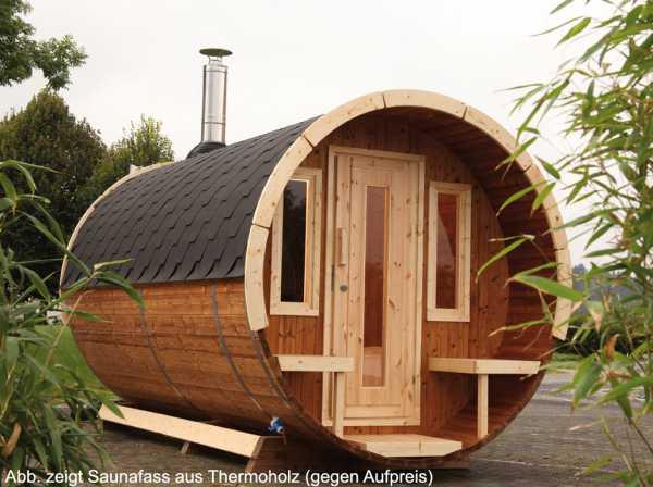 Saunafass 330 de luxe naturbelassen