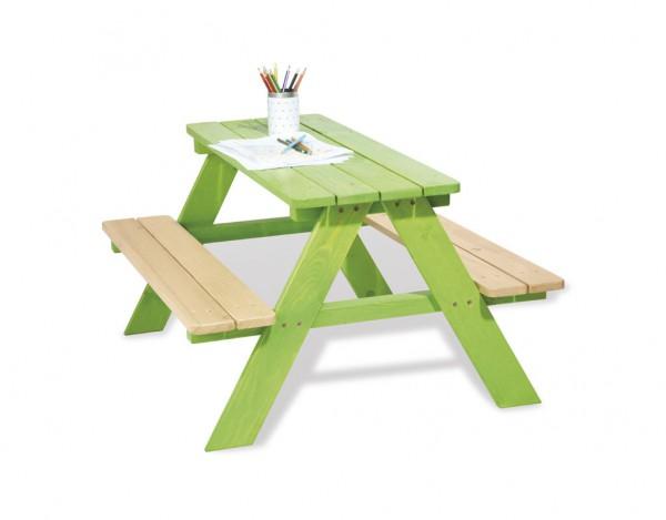 Kindersitzgarnitur Nicki für 4 Grün