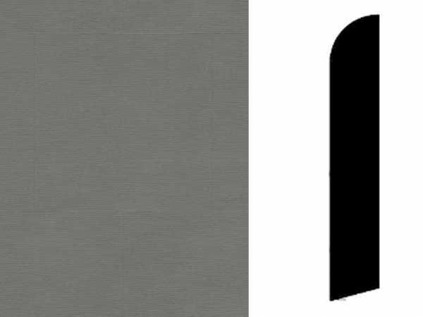 Sockelleiste Twine Dark Grey Dekor