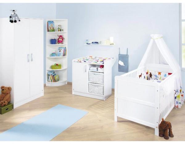 Kinderzimmer Viktoria Uni weiß