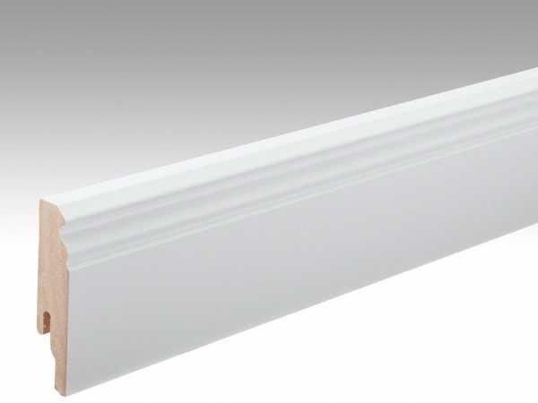 Sockelleiste Uni weiß glänzend Dekor Profil 11 PK