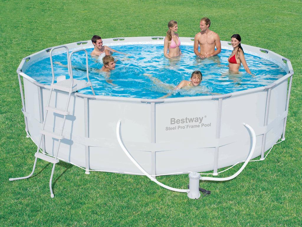 Frame pool power steel set 575025 - Bestway power steel frame pool ...