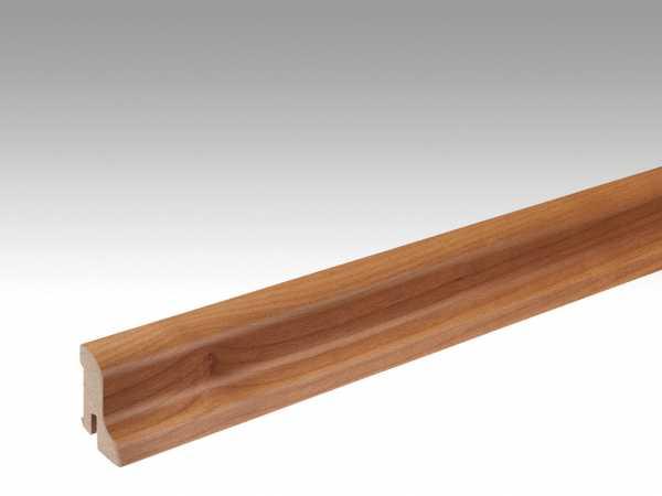 Sockelleiste Kirschbaum amerikanisch 014 lackiert Echtholzfurnier Profil 1 MK