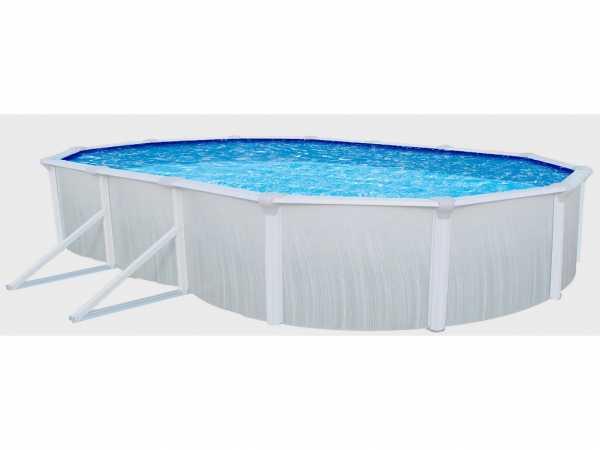 Stahlwandpool Aruba oval 610 cm Standard Set