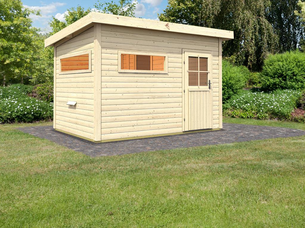 saunahaus sven mit vorraum extra sauna fenster 570128. Black Bedroom Furniture Sets. Home Design Ideas