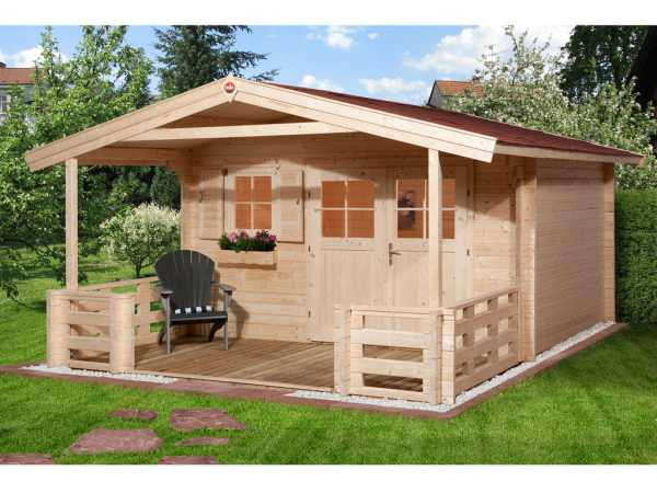 Gartenhaus 136 B Gr. 1 45 mm naturbelassen