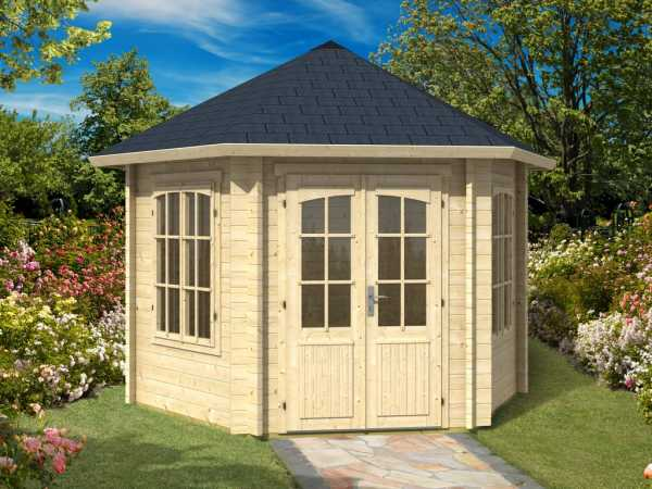 Pavillon Rivera 44 44 mm naturbelassen