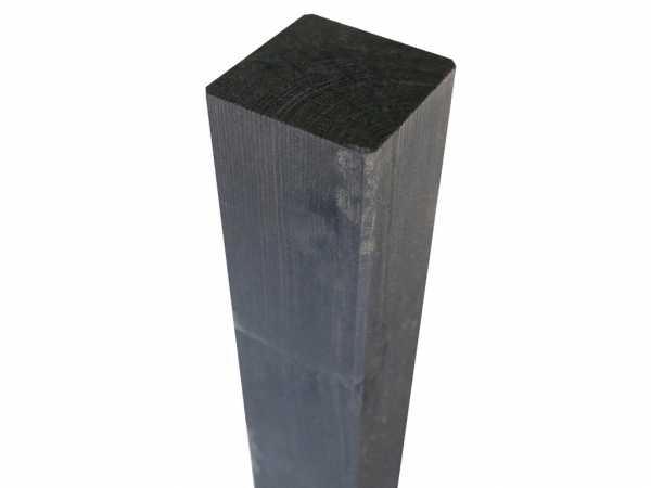 Pfosten Kiefer gehobelt Grau lasiert 180 cm