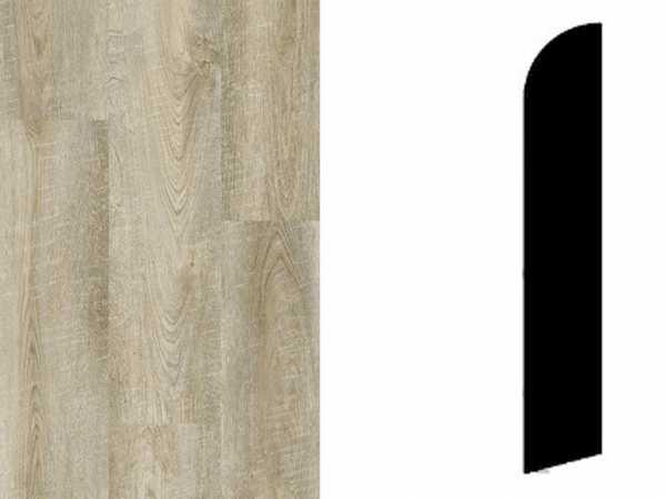 Sockelleiste Antik Oak Grege Dekor