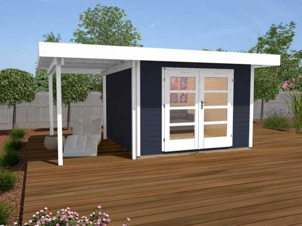Gartenhaus Designhaus 126 Plus A Gr. 1 anthrazit