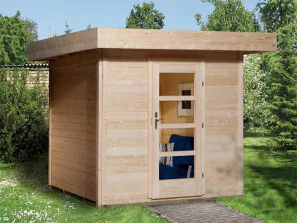 Gartenhaus Designhaus 172 Gr. 1 28 mm naturbelassen
