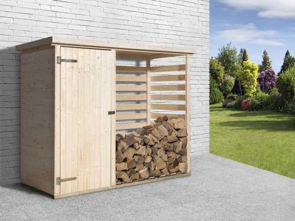 Brennholzlager 663