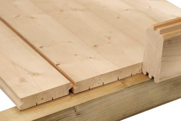 """Holz-Fußboden für Gartenhaus """"Venlo C"""""""