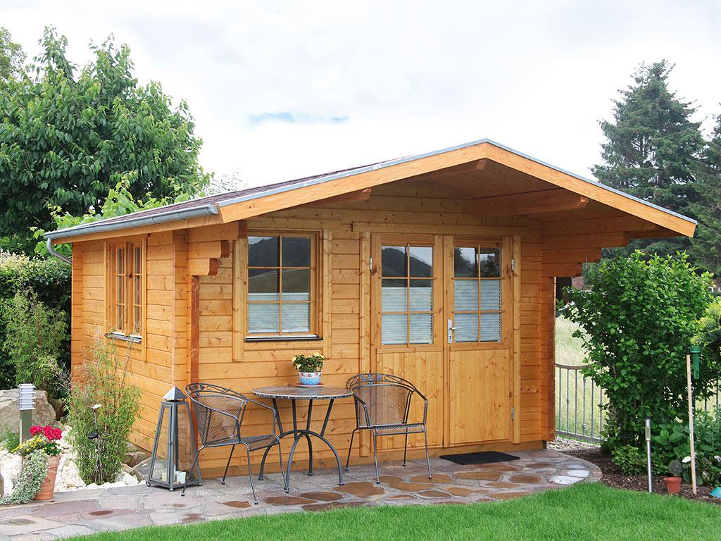 gartenhaus blockbohlenhaus nordkap 70 a xl 70 mm. Black Bedroom Furniture Sets. Home Design Ideas