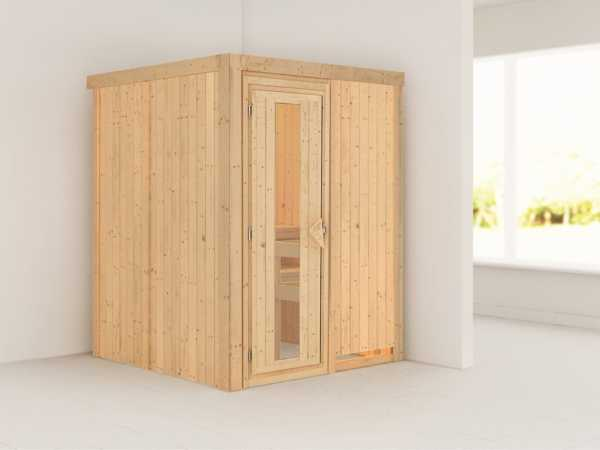 Sauna Systemsauna Minja Energiespartür