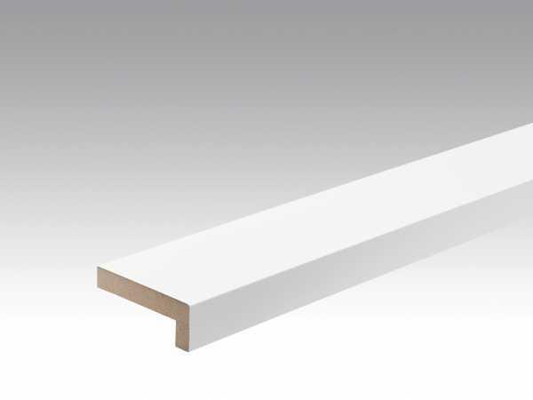Wand- und Deckenleiste Uni weiß glänzend 324 Dekor