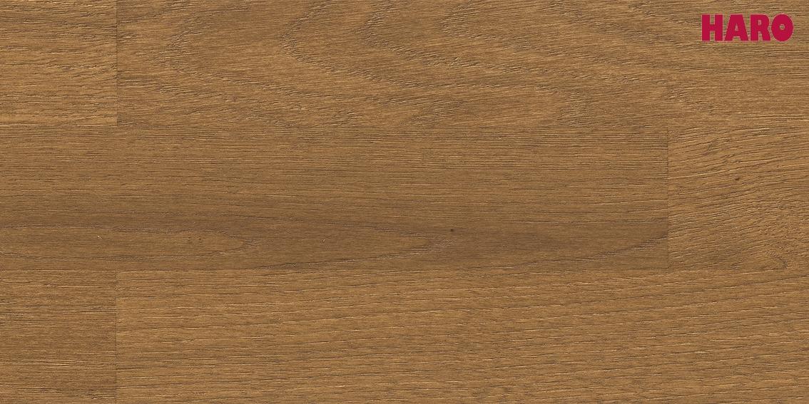 HARO Parkett Eiche Puro caramel Trend strukturiert Serie 4000 3-Stab Schiffsboden 533350