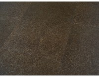 Korkboden Marrone mit HPS Oberfläche Fliesenoptik dunkel