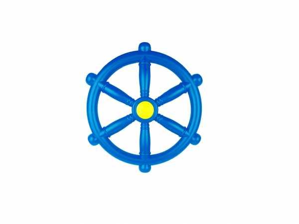 Piraten Lenkrad Steuerrad blau Ø 30,5 cm