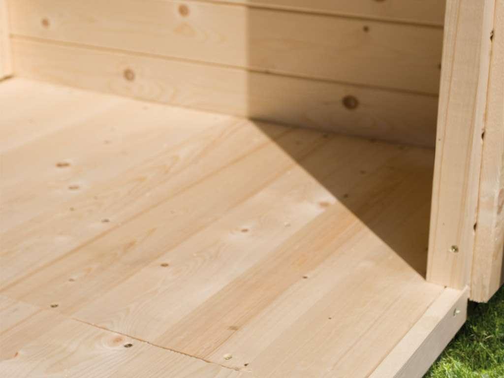 Fußboden Im Gartenhaus ~ Wolff finnhaus fußboden für gartenhäuser für gartenhaus trend d
