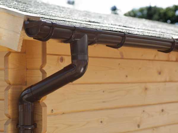 Regenrinne für Flachdach, 5 m
